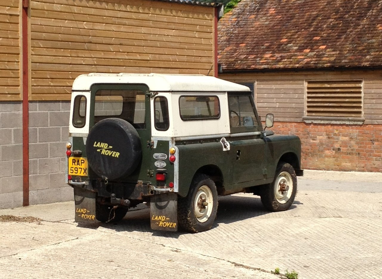 1981 Land Rover Series 3 SWB Hardtop In very original For Sale (picture 2 of 6)