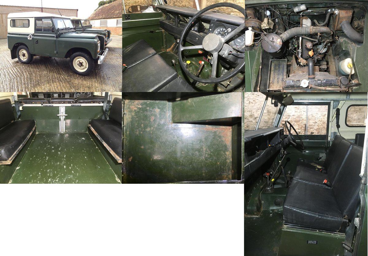1981 Land Rover Series 3 SWB Hardtop In very original For Sale (picture 3 of 6)
