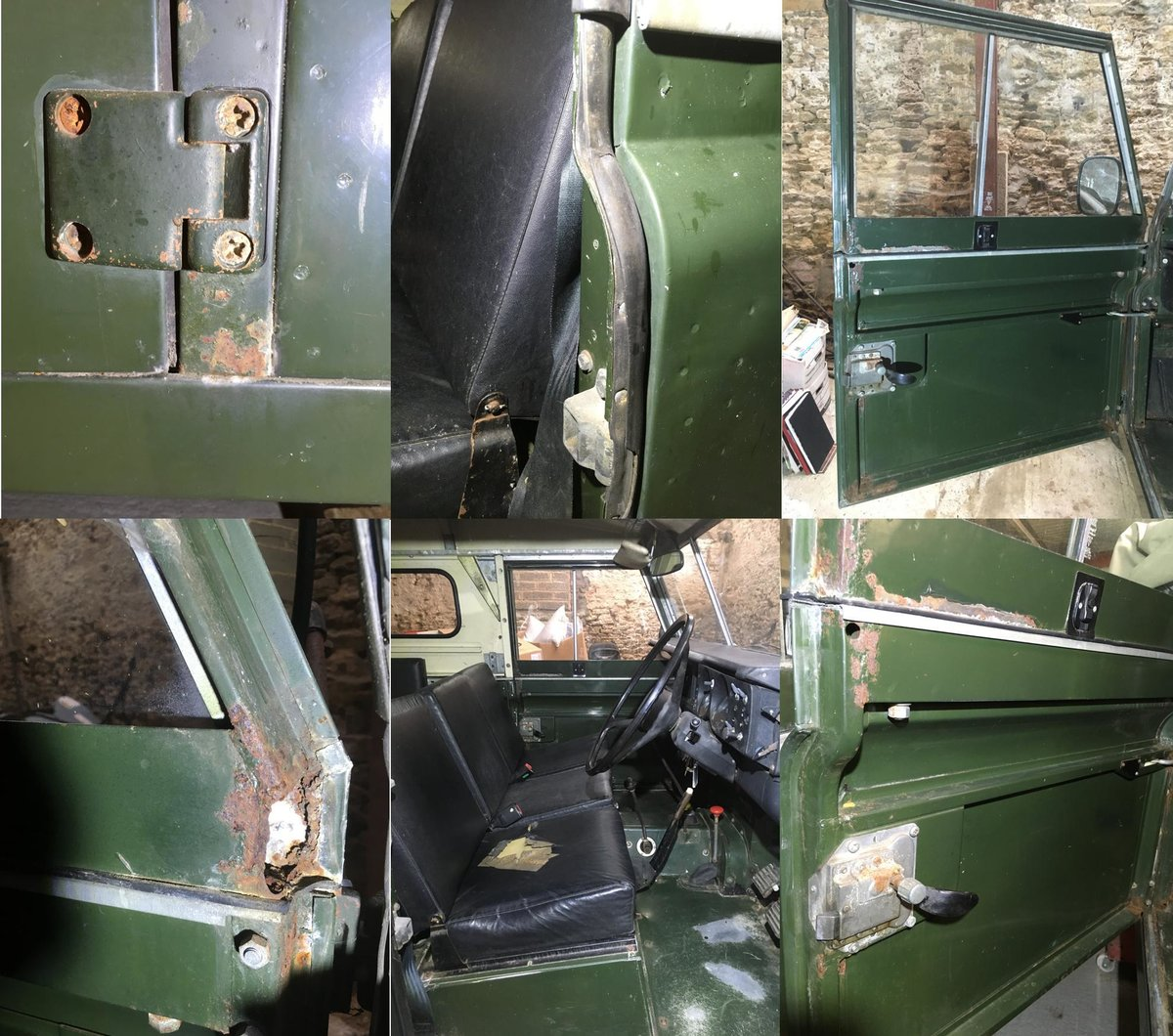 1981 Land Rover Series 3 SWB Hardtop In very original For Sale (picture 4 of 6)