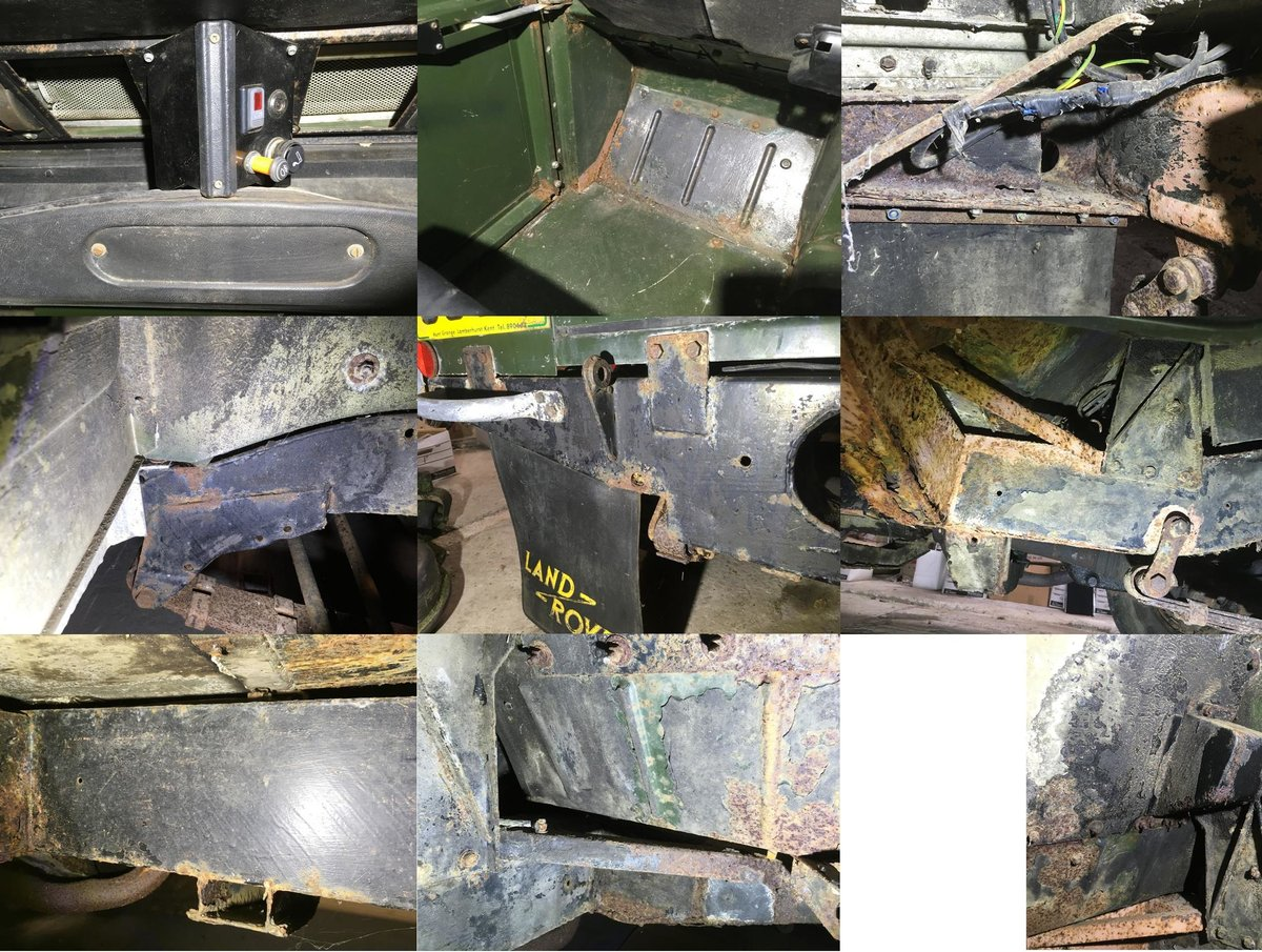1981 Land Rover Series 3 SWB Hardtop In very original For Sale (picture 6 of 6)
