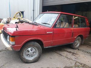 1973 Range Rover suffix b 1 family owned from new