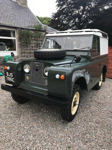 Land Rover Series 2A in great condition Beautiful