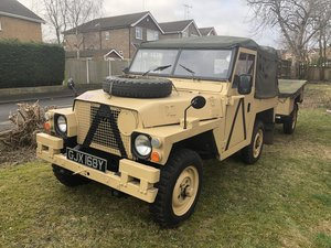1972 Land Rover lightweight