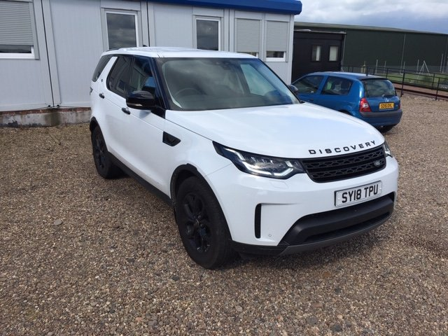 2018 Land Rover Discovery Commercial SE SOLD (picture 1 of 6)