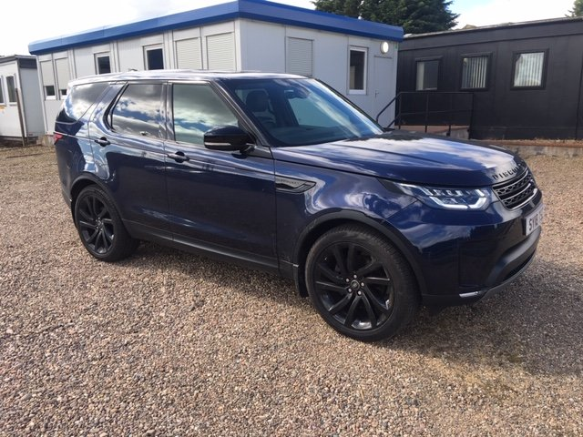 2018 Land Rover Discovery Commercial HSE SOLD (picture 1 of 6)