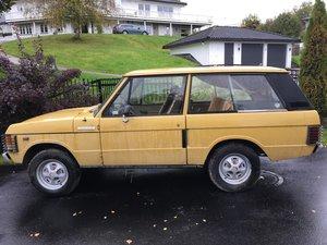 1975 Range Rover 3.5