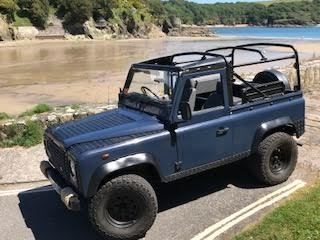 1987 Land Rover defender 90 soft top for sale