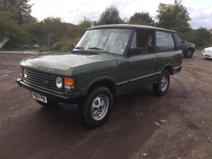 1988 Range Rover Classic F Reg LHD  For Sale