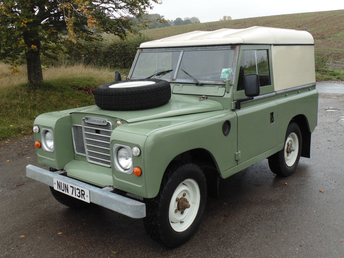 1977 Land Rover 88 Series 3 For Sale (picture 1 of 6)