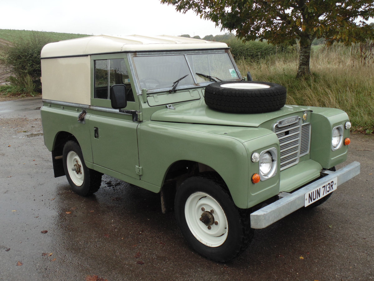 1977 Land Rover 88 Series 3 For Sale (picture 2 of 6)