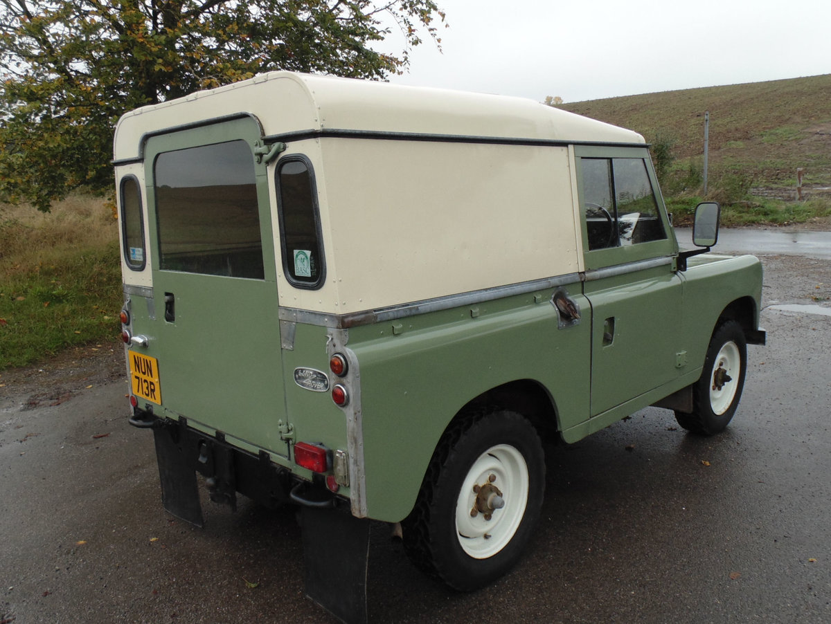 1977 Land Rover 88 Series 3 For Sale (picture 3 of 6)