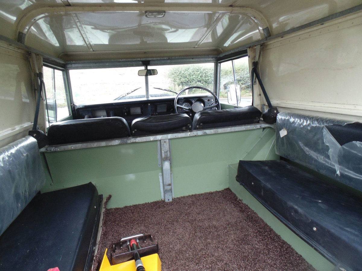 1977 Land Rover 88 Series 3 For Sale (picture 5 of 6)