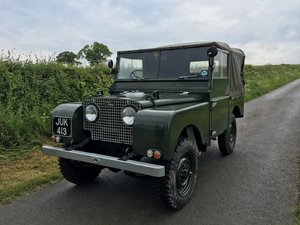 1952 Land Rover Series 1 For Sale