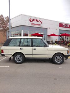 1988 RANGE ROVER CLASSIC 3.5 EFI VOGUE AUTOMATIC 82,000  For Sale