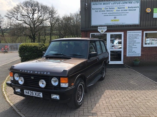 1990 Range Rover 3.9 V8 Vogue S only 21,000miles For Sale (picture 1 of 6)
