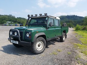 2005 Defender 130 double cab pick up turbo diesel For Sale