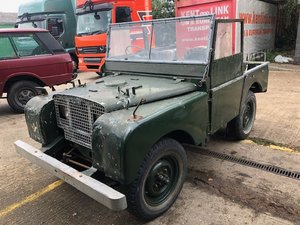 1950 Land Rover Series One 80 SOLD