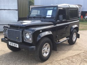 2010 Land Rover Defender 90XS SW SWB - Black  For Sale