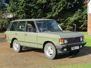 1986 Range Rover 3.5 EFi Vogue Auto at ACA 2nd November