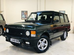 1994 RANGE ROVER VOGUE SE - SOFT DASH, 2OWNERS, GREAT VALUE For Sale