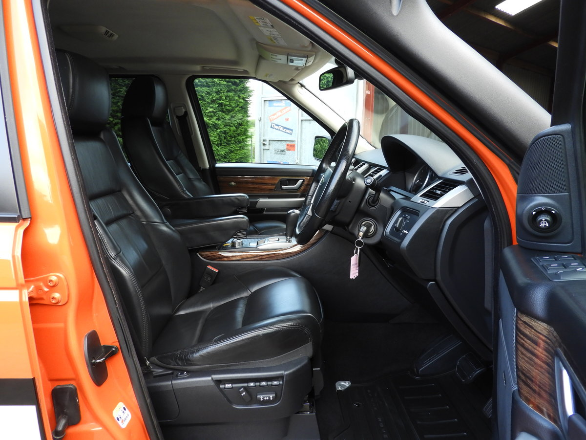2008 RANGE ROVER SPORT 3.6 TDV8 HSE RARE G4 CHALLENGE !!!! For Sale (picture 5 of 6)