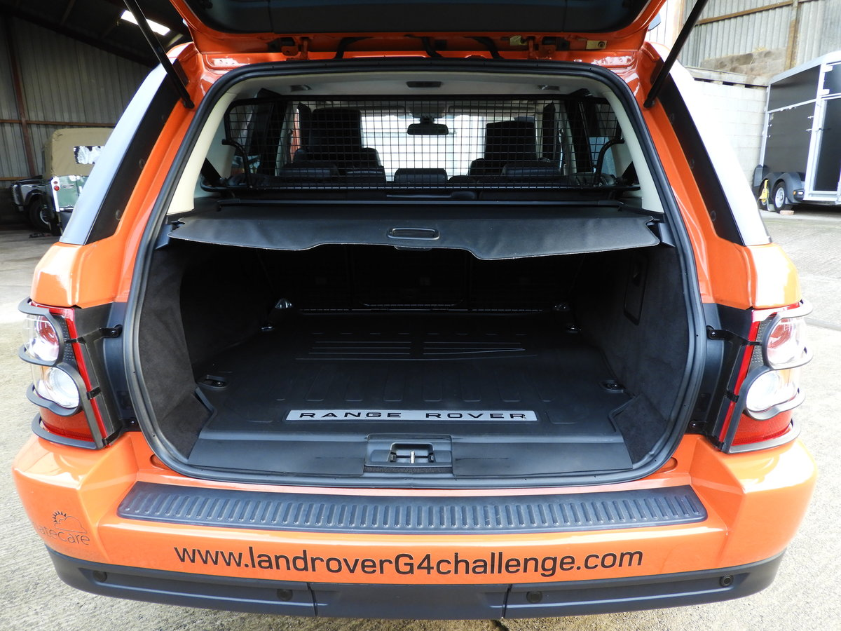 2008 RANGE ROVER SPORT 3.6 TDV8 HSE RARE G4 CHALLENGE !!!! For Sale (picture 6 of 6)