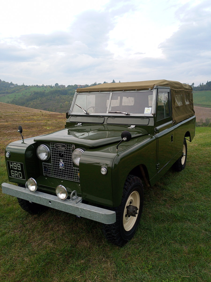 1961 Land Rover Series II rhd For Sale (picture 1 of 12)