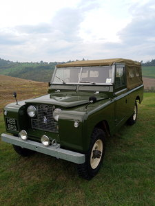 Land Rover Series II rhd