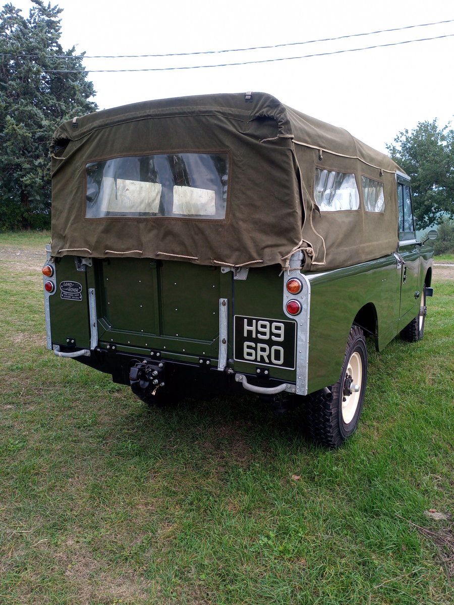 1961 Land Rover Series II rhd For Sale (picture 2 of 12)