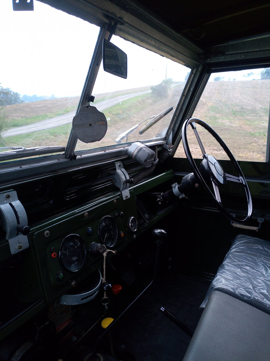 1961 Land Rover Series II rhd For Sale (picture 3 of 12)