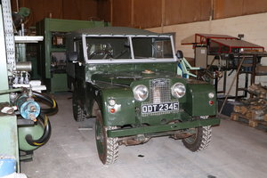 1958 landrover series 1