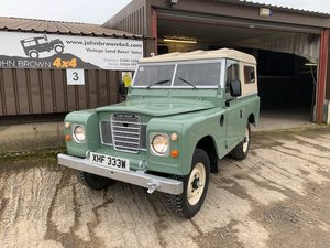 1981 Land Rover® Series 3 (XHF) SOLD