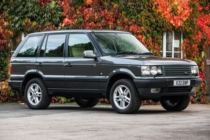 Lot No. 447 - 2001 Range Rover (P38) 4.0 HSE - 42,000 miles For Sale by Auction
