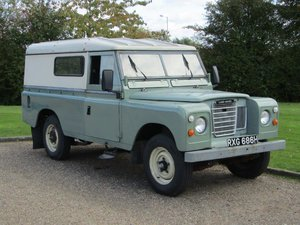 1970 Land Rover 109 Series III LWB at ACA 2nd November  For Sale