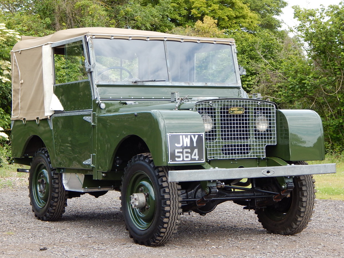 1950 Land Rover Series 1 80 For Sale (picture 1 of 12)