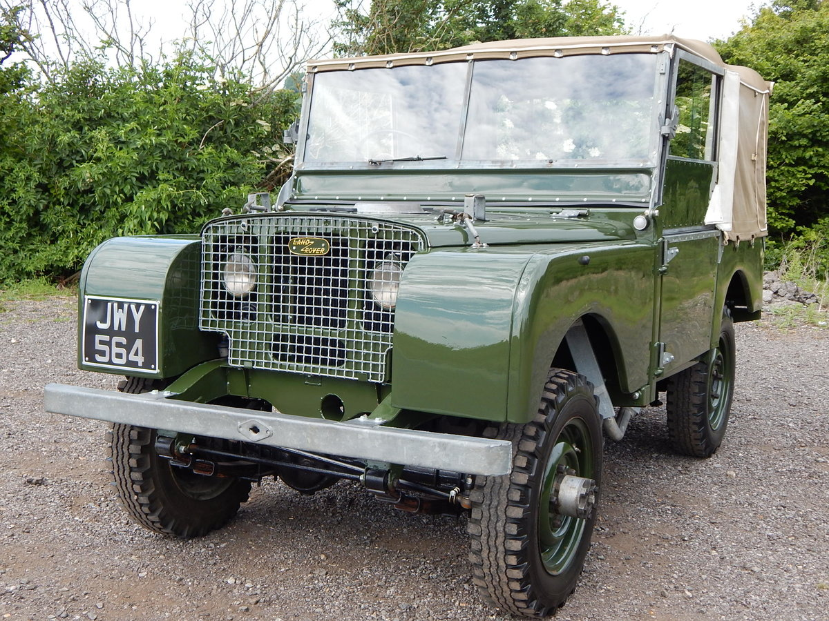 1950 Land Rover Series 1 80 For Sale (picture 2 of 12)