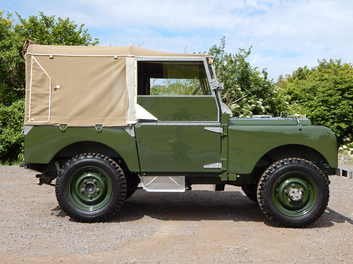 1950 Land Rover Series 1 80 For Sale (picture 3 of 12)