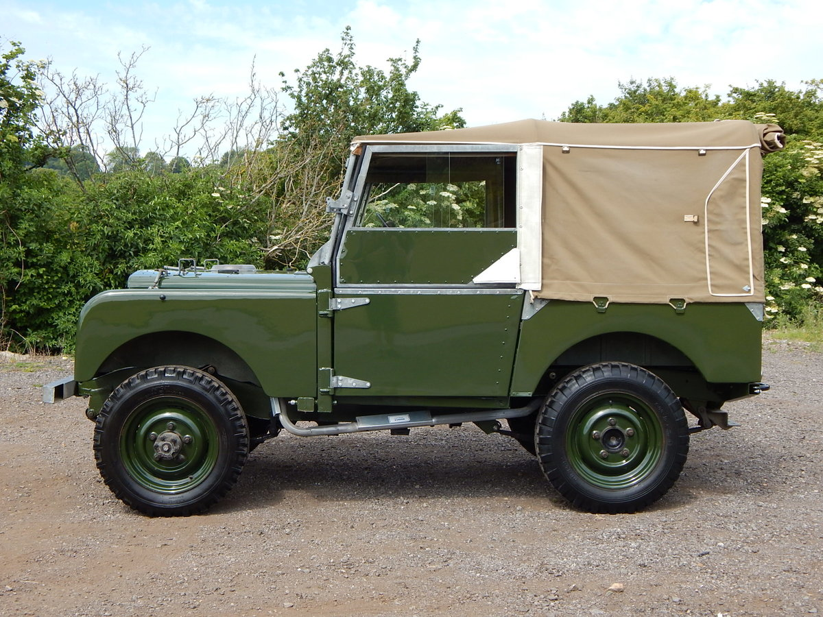 1950 Land Rover Series 1 80 For Sale (picture 4 of 12)