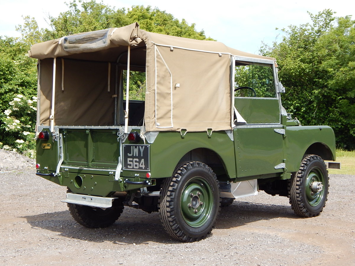 1950 Land Rover Series 1 80 For Sale (picture 5 of 12)