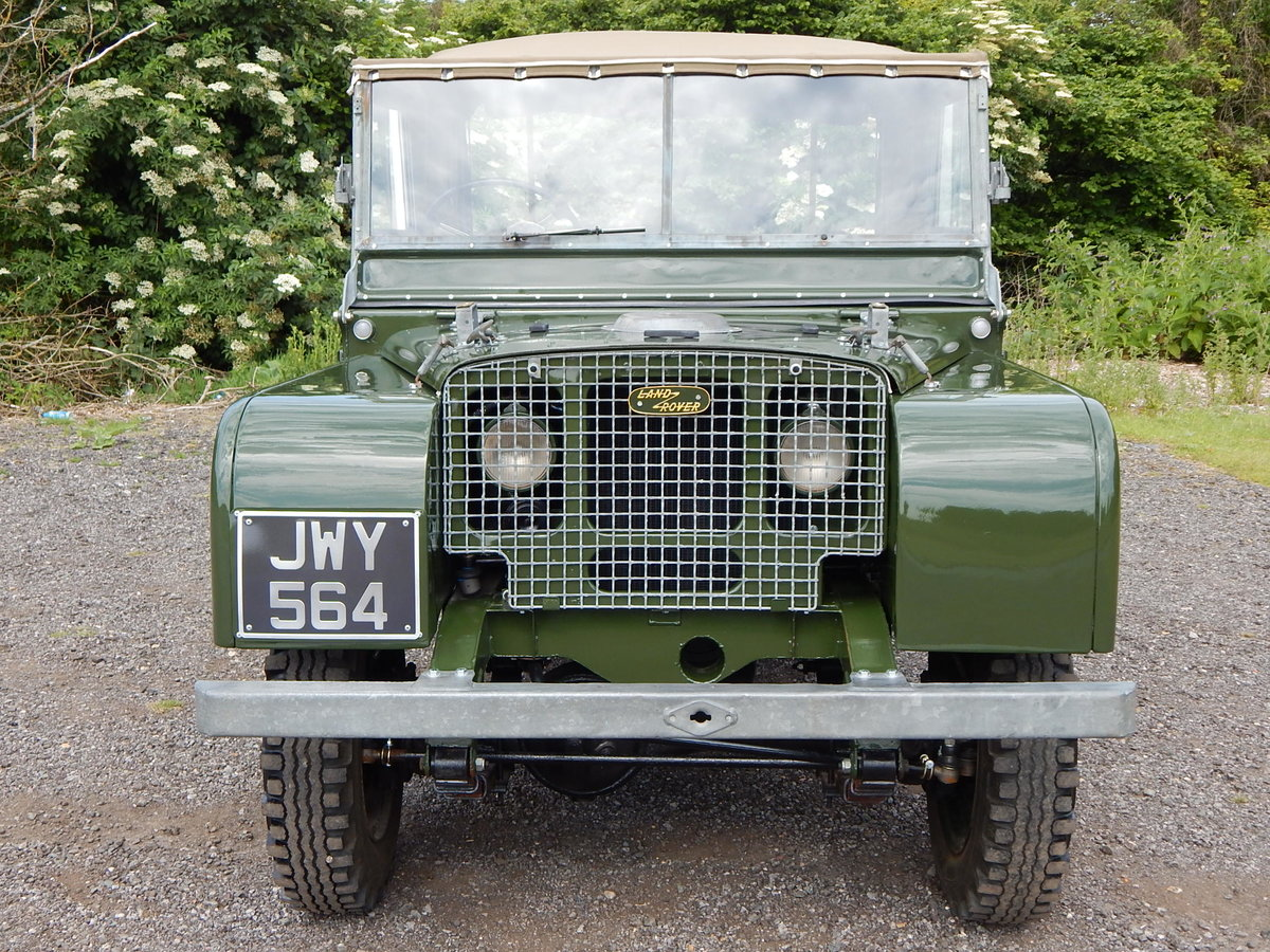 1950 Land Rover Series 1 80 For Sale (picture 7 of 12)