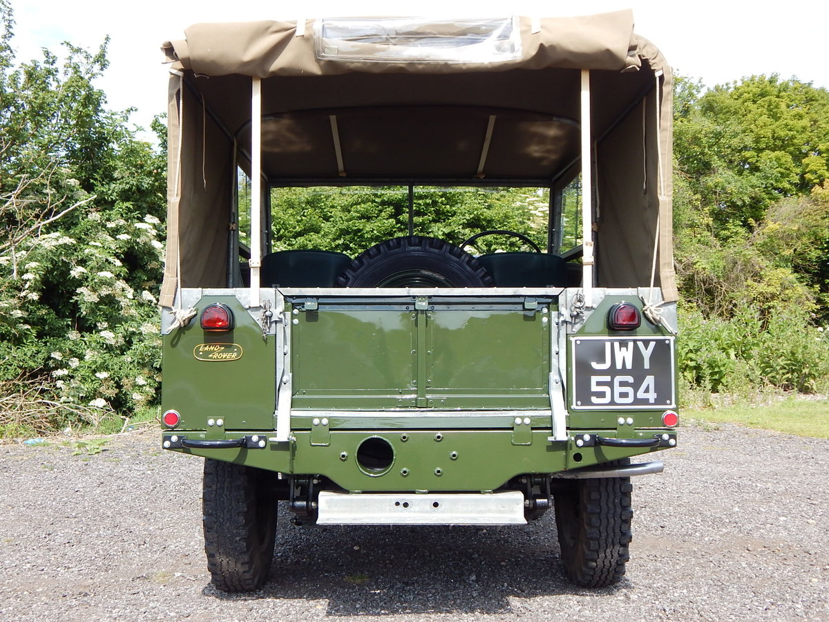 1950 Land Rover Series 1 80 For Sale (picture 8 of 12)