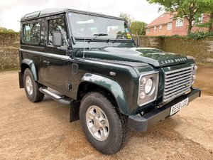 2008 08/58 Defender 90 TDCi XS station waqon+2 owners just 45K SOLD