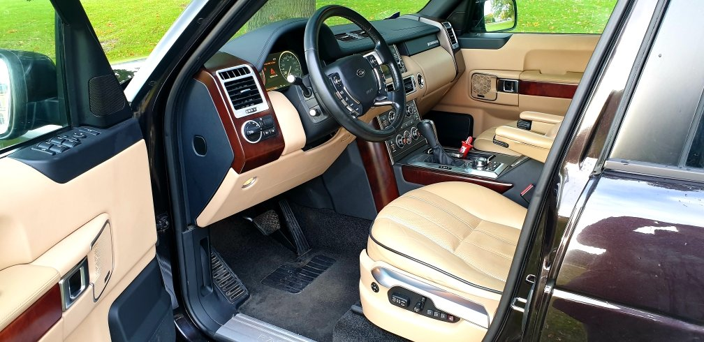 2010 LHD Land Rover Range Rover Vogue 3.6 TDV8, LEFT HAND DRIVE For Sale (picture 4 of 6)