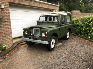 "1984 Landrover series 3 88"" 1 family owned beauty For Sale"