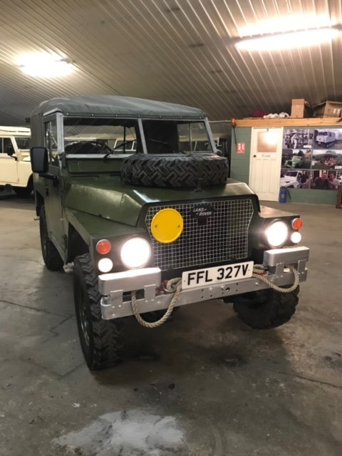 1980 Land Rover® Lightweight *7 Seater* (FFL) SOLD (picture 6 of 6)