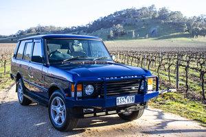 1995 Range Rover Classic 'Soft Dash' Biarritz Blue RHD  For Sale