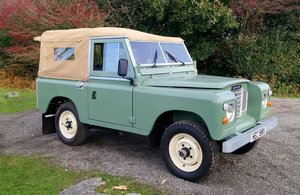 "1981 Land Rover Series 3 2¼ Petrol 88"" Soft Top For Sale"