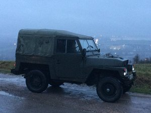 1981 Lightweight Land Rover series 3