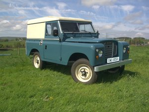 "1982 land rover series 3    88"" For Sale"