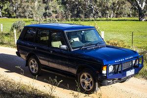 1995 Range Rover Classic 'Soft Dash' Biarritz Blue RHD